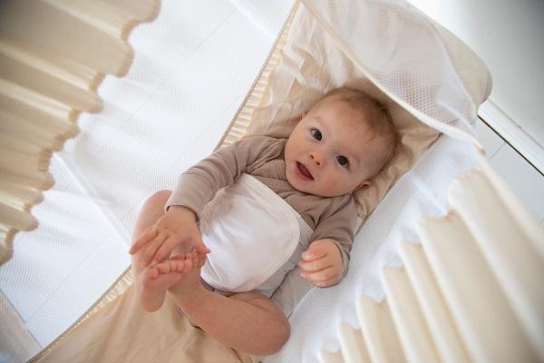 ưu điểm khi bé nằm võng