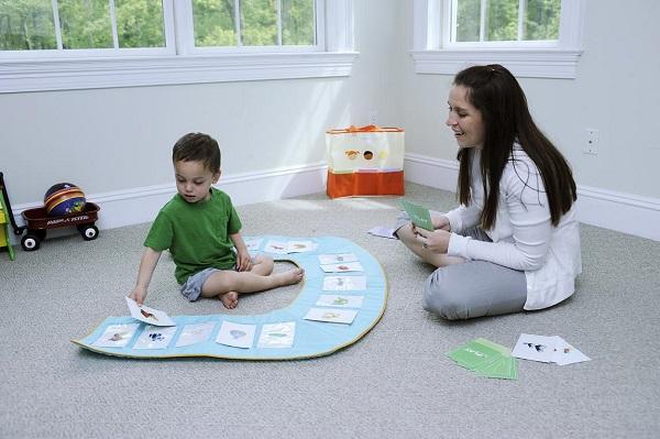 cách dạy trẻ tự kỷ tập nói