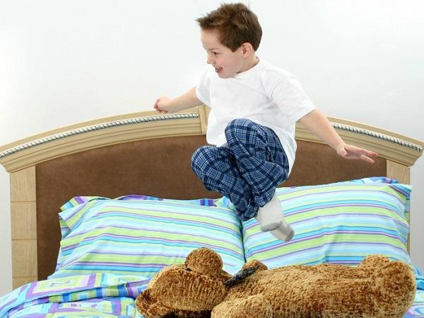 Trẻ tăng động khó ngủ